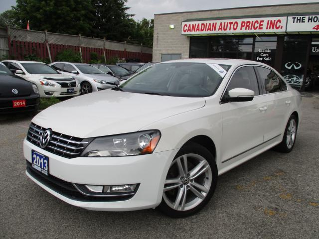 2013 Volkswagen Passat HIGHLINE-NAVI-LTHER-CAM-ROOF-BLUETHOOTH-TURBO-HEAT