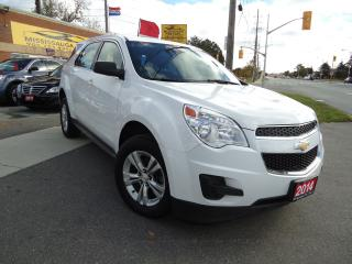 Used 2014 Chevrolet Equinox ,CLEAN CARPROOF,BLUETOOTH,LOCAL for sale in Etobicoke, ON