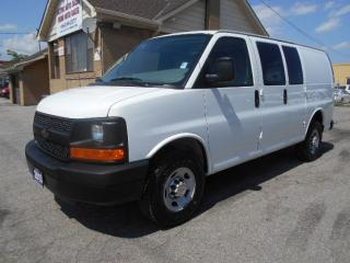 Used 2013 Chevrolet Express 2500 2500HD Cargo 4.8L Loaded 4Dr Divider ONLY 52,000Km for sale in Etobicoke, ON