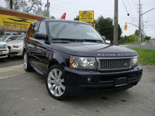 Used 2006 Land Rover Range Rover Sport ,SC,NAVIGATION,DVD,BACK&FRONTCAMERA for sale in Etobicoke, ON