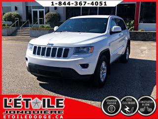Used 2014 Jeep Grand Cherokee LAREDO, CLIMATISATION DEUX ZONES, SIEGE for sale in Jonquière, QC