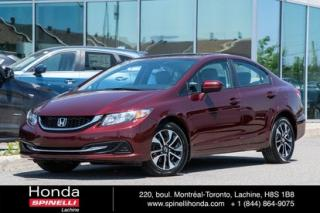 Used 2015 Honda Civic EX AUTO TRES BAS KM TRES BAS KM AUTO TOIT MAGS for sale in Lachine, QC