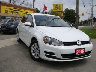 Used 2015 Volkswagen Golf ,Trendline,NO ACCIDENT,LOCAL for sale in Etobicoke, ON