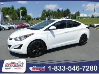 Used 2016 Hyundai Elantra GL MANUELLE for sale in St-Georges, QC