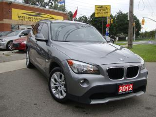 Used 2012 BMW X1 ,LEATHER,NO ACCIDENT,LOCAL for sale in Etobicoke, ON
