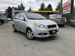 Used 2010 Chevrolet Aveo5 Aveo5 for sale in Surrey, BC