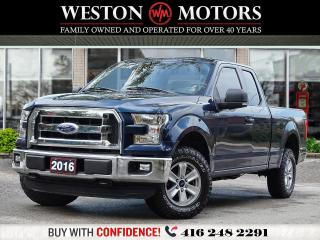 Used 2016 Ford F-150 4X4*145 XL*8CYL*SUPER CAB*BTOOTH*REV CAM!!* for sale in Toronto, ON