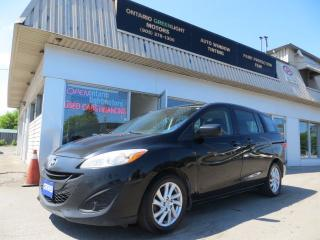 Used 2012 Mazda MAZDA5 ALLOYS,6 PASSENGERS,ALL POWERED, CLEAN CARFAX for sale in Mississauga, ON