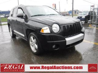 Used 2007 Jeep Compass Limited 4D Utility 2.4L 4WD for sale in Calgary, AB