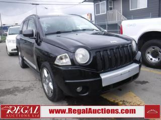 Used 2007 Jeep Compass Limited 4D Utility 4WD for sale in Calgary, AB