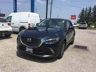Used 2017 Mazda CX-3 *BACK-UP CAMERA*HEATED SEATS - DRIVER AND PASSENGER*LEATHER*POWER MOONROOF*NAVI* for sale in London, ON