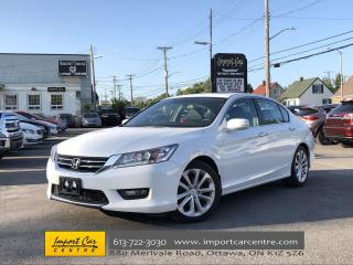 Used 2015 Honda Accord Touring LEATHER ROOF NAV BLIS for sale in Ottawa, ON