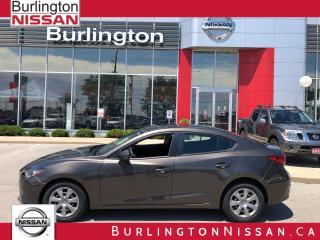 Used 2015 Mazda MAZDA3 GX, MANUAL TRANSMISION, 1 OWNER ! ! for sale in Burlington, ON