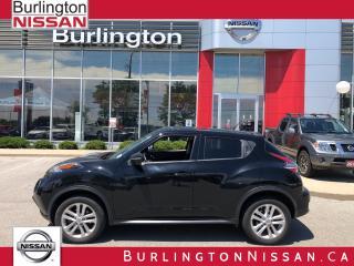 Used 2016 Nissan Juke SV, ACCIDENT FREE, 1 OWNER ! for sale in Burlington, ON