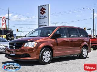 Used 2012 Dodge Grand Caravan SE ~Full Stow 'N Go ~Rear Air ~DVD ~Backup Cam for sale in Barrie, ON