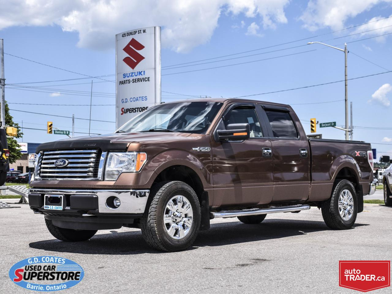 Used Tires Barrie >> Used 2011 Ford F 150 Xtr Super Crew 4x4 5 0l V8 Power Seat For