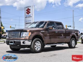 Used 2011 Ford F-150 XTR Super Crew 4x4 ~5.0L V8 ~Power Seat for sale in Barrie, ON