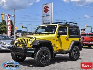 Used 2009 Jeep Wrangler X 4X4 for sale in Barrie, ON