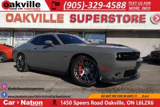 Used 2017 Dodge Challenger SRT 392 | UCONNECT | HTD VTD SEATS | RARE for sale in Oakville, ON