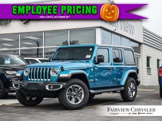 Used 2019 Jeep Wrangler Unlimited Sahara for sale in Burlington, ON