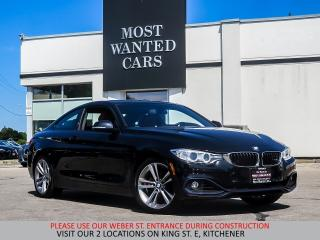Used 2016 BMW 428i xDrive   RED LEATHER   NAVIGATION   SUNROOF   CAME for sale in Kitchener, ON