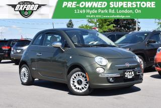Used 2015 Fiat 500 Lounge for sale in London, ON