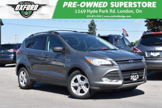 Used 2013 Ford Escape SE - 1 Owner, FWD, Roof Rack, GPS, Sunroof, Blueto for sale in London, ON