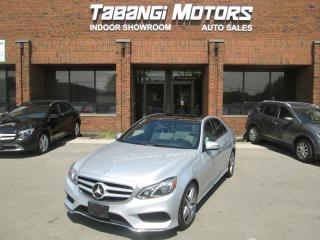 Used 2016 Mercedes-Benz E-Class E250 BLUETEC 4MATIC NO ACCIDENTS | A.M.G | LEATHER | SUNROOF for sale in Mississauga, ON