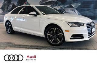 Used 2017 Audi A4 2.0T Technik + Blind Spot | Keyless | Rear Cam for sale in Whitby, ON