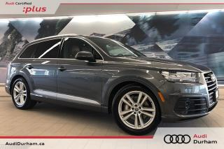Used 2017 Audi Q7 3.0T Technik + S-Line | Luxury | Driver Assist for sale in Whitby, ON