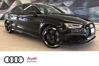 Used 2018 Audi RS 3 2.5T quattro + Black Optics | Sport Exhaust | LED for sale in Whitby, ON