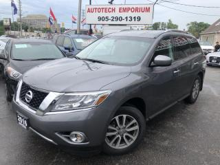 Used 2016 Nissan Pathfinder SV AWD Pano 7-Pass/Htd Seats/Camera/Bluetooth&ABS* for sale in Mississauga, ON