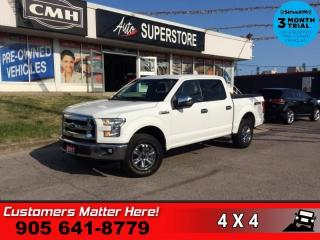 Used 2017 Ford F-150 XLT  V8 CREW 4X4 ALLOYS for sale in St. Catharines, ON