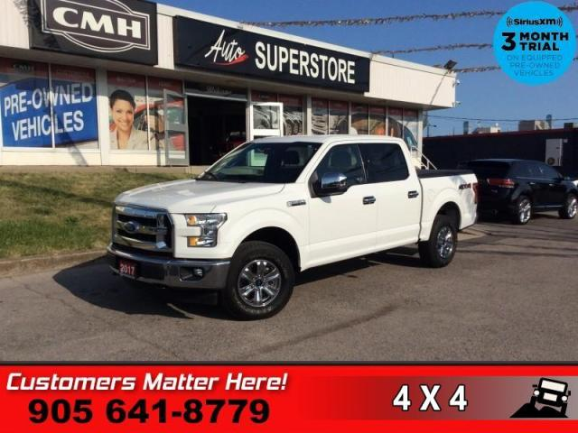 2017 Ford F-150 XLT  CREW 4X4 ALLOYS