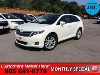 Used 2014 Toyota Venza AWD XLE  AWD LEATH PANO-ROOF CAM P/GATE BT for sale in St. Catharines, ON
