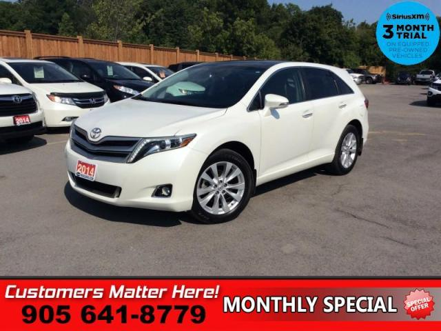 2014 Toyota Venza AWD XLE  AWD LEATH PANO-ROOF CAM P/GATE BT