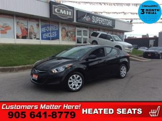 Used 2014 Hyundai Elantra GL  AUTO HTD-SEATS BT 1-OWNER for sale in St. Catharines, ON