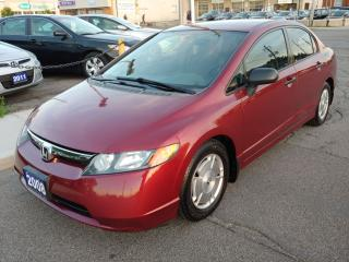 Used 2008 Honda Civic DX-G / RUNS & DRIVES LIKE NEW / ONLY 167,000 KMS!!! for sale in Hamilton, ON