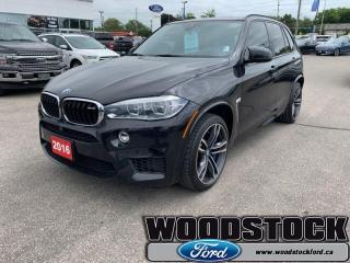Used 2016 BMW X5 M AWD 4dr  - Navigation -  Sunroof for sale in Woodstock, ON
