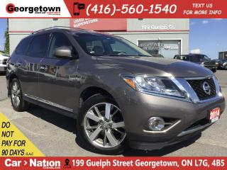 Used 2014 Nissan Pathfinder Platinum | NAVI | 360 CAM | LEATHER | AWD | for sale in Georgetown, ON