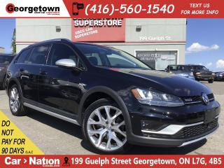 Used 2017 Volkswagen Golf Alltrack 1.8 TSI |PARK ASSIST|PANO ROOF|NAV|AWD|LEATHER for sale in Georgetown, ON