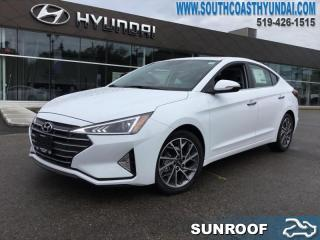 New 2020 Hyundai Elantra Luxury  - Leather Seats - $145 B/W for sale in Simcoe, ON