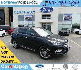 Used 2018 Hyundai Santa Fe Sport Limited | AWD | HTD LEATHER | PANOROOF | TURBO | for sale in Brantford, ON