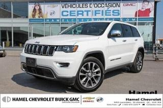 Used 2018 Jeep Grand Cherokee LIMITE * RG. DE VITESSE ADAPTATIF * TOIT * NAV for sale in St-Léonard, QC
