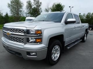Used 2015 Chevrolet Silverado 1500 LT CREW CAB BTE 6.5P, 4X4, GRAND ÉCRAN for sale in Vallée-Jonction, QC