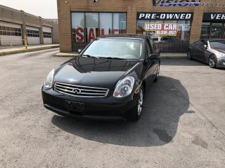 Used 2005 Infiniti G35 2005 Infiniti G35 - G35x 4dr Sdn AWD Auto for sale in North York, ON
