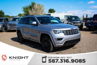 Used 2019 Jeep Grand Cherokee Altitude V6 | Leather | Sunroof | Navigation for sale in Medicine Hat, AB