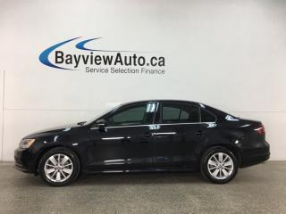 Used 2016 Volkswagen Jetta 1.4 TSI Trendline - 5SPD! SUNROOF! HEATED SEATS! BLUETOOTH! ALLOYS! + MORE! for sale in Belleville, ON