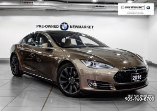 Used 2016 Tesla Model S 90D -NO ACCIDENTS| for sale in Newmarket, ON