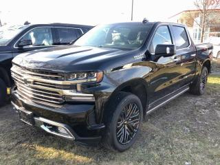 New 2019 Chevrolet Silverado 1500 High Country SHORT BOX / CREW CAB / 3LZ HIGH COUNTRY for sale in Markham, ON